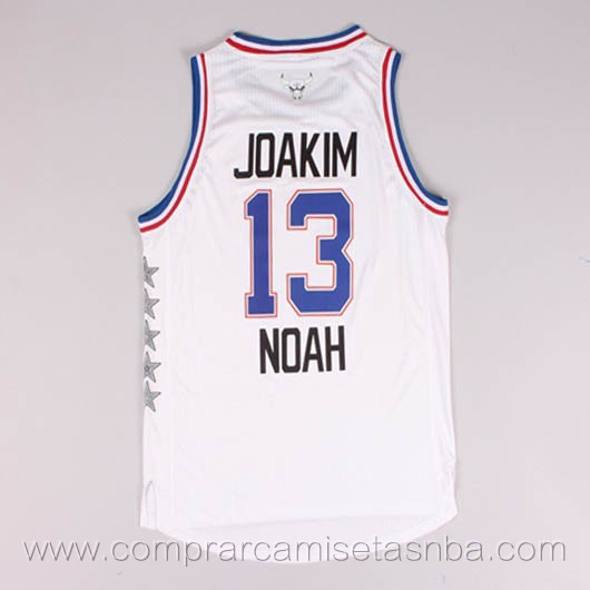 Camisetas de baloncesto NBA blanco Joakim Noah 2015 All-Star