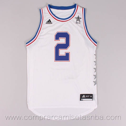Camisetas de baloncesto NBA blanco John Wall 2015 All-Star