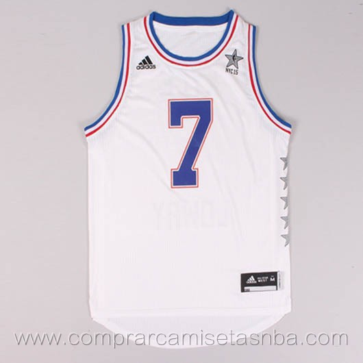 Camisetas de baloncesto NBA blanco Kyle Lowry 2015 All-Star
