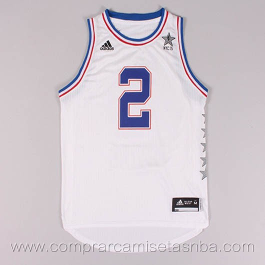 Camisetas de baloncesto NBA blanco Kyrie Irving 2015 All-Star