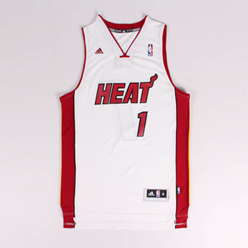 Camisetas nba del blanco Nickname CB Chris Bosh Miami Heat