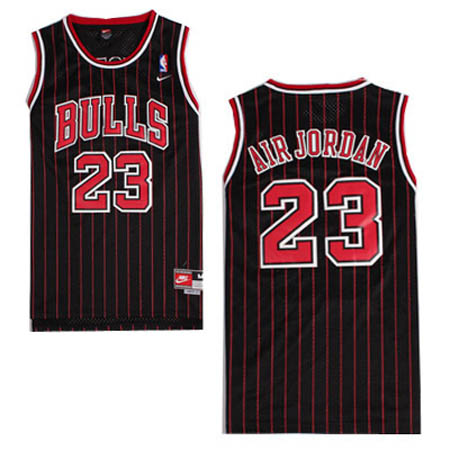 Camisetas nba del negro Nickname Air Jordan Michael Jordan Chicago Bulls