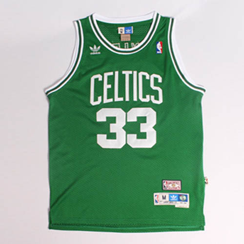 Camisetas nba del verde Nickname Larry Legend Larry Bird Boston Celtics