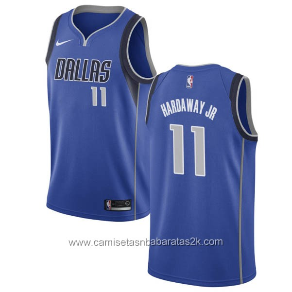 Camisetas nba baratas nike Azul #11 Tim Hardaway Jr. Dallas Mavericks