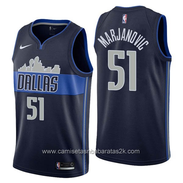 Camisetas nba baratas nike Statement #51 Boban Marjanovic de Dallas Mavericks