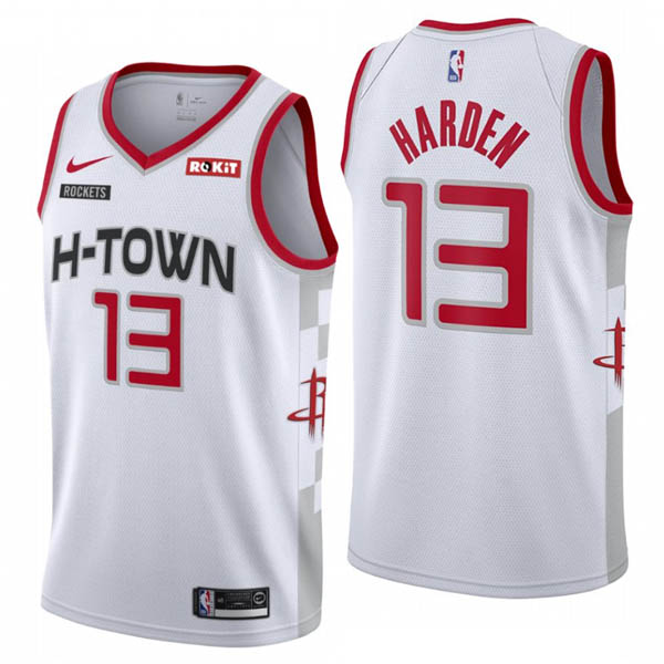 Camiseta James Harden baratas del City Edition #13 para Houston Rockets 2019-20