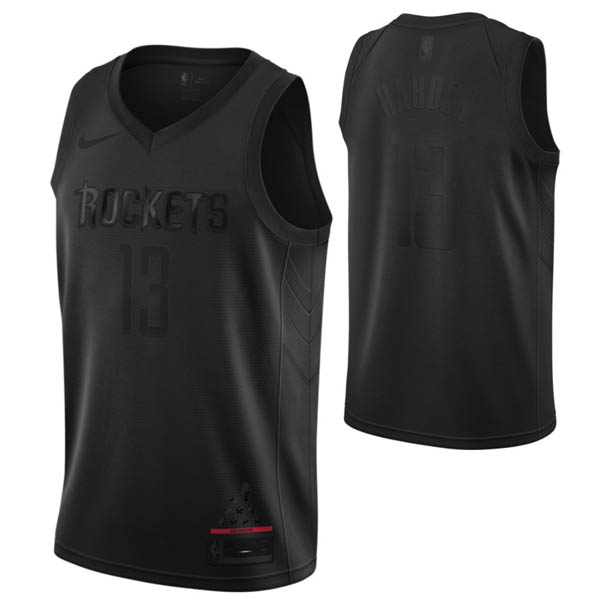 Camiseta James Harden baratas del #13 negro MVP para Houston Rockets
