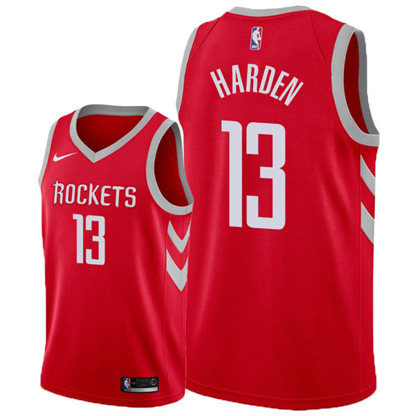 Camiseta James Harden baratas del #13 rojo para Houston Rockets