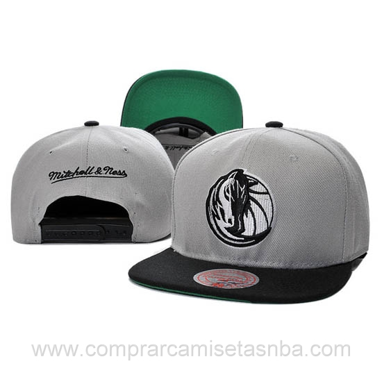 Gorras Dallas Mavericks baratas gris DM02H hombre