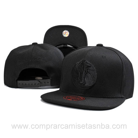 Gorras Dallas Mavericks baratas negro DM04H hombre