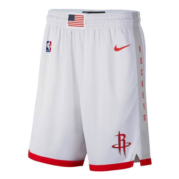 Pantalones Houston Rockets baratas de nike blanco City Edition 2019-20