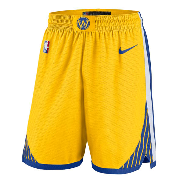 Pantalones Golden state Warriors baratas de nike Amarillo