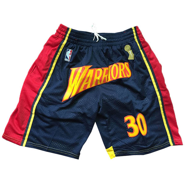 Pantalones Golden state Warriors baratas nba del Stephen Curry versión campeón