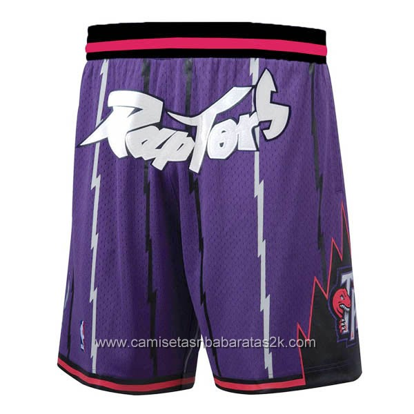 Pantalones Just Don baloncesto nba baratas de nike purpura Toronto Raptors