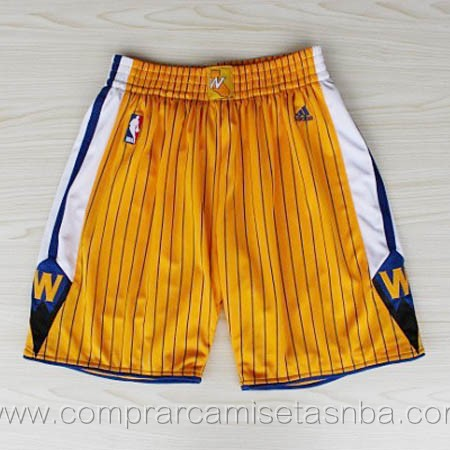 Pantalones baloncesto nba amarillo Golden state Warriors