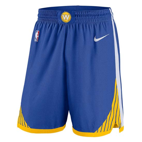 Pantalones baloncesto nba azul Golden state Warriors 2018