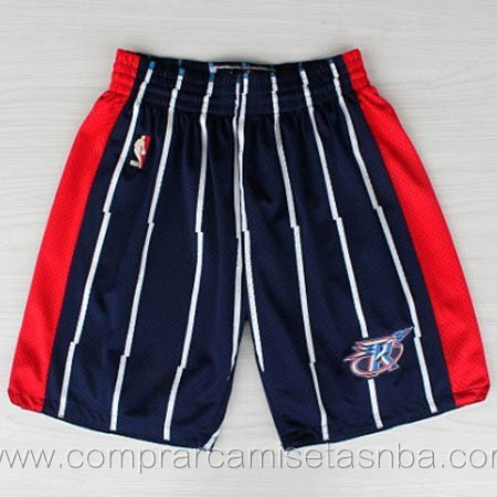 Pantalones baloncesto nba azul oscuro Houston Rockets