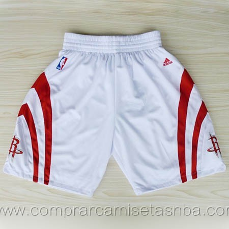 Pantalones baloncesto nba blanco Houston Rockets
