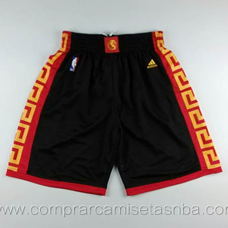 Pantalones baloncesto nba negro Golden state Warriors