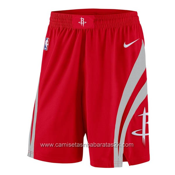 Pantalones baloncesto nba de nike rojo Houston Rockets