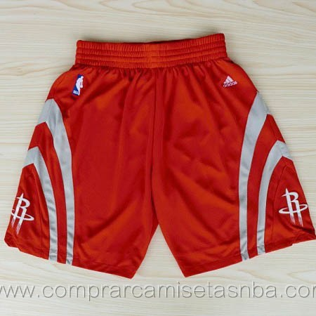 Pantalones baloncesto nba rojo Houston Rockets