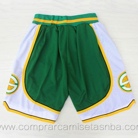 Pantalones baloncesto nba verde Seattle SuperSonics