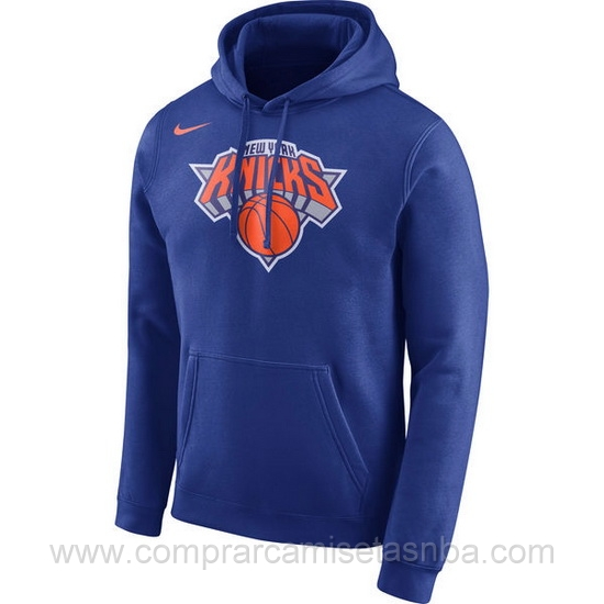 Sudaderas nba baratas Nike azul1 New York Knicks