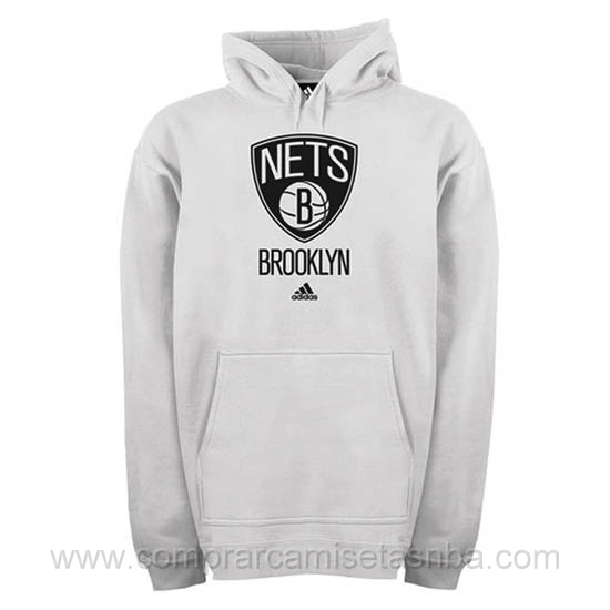 Sudaderas nba baratas gris Brooklyn Nets
